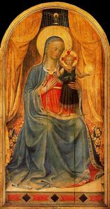 Fra Angelico - Virgin and the Child 1