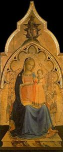 Fra Angelico - Virgin and the Child