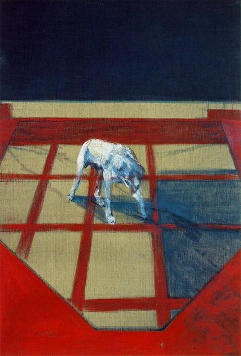 Dog, 1952 by Francis Bacon (1909-1992, Ireland) |  | WahooArt.com