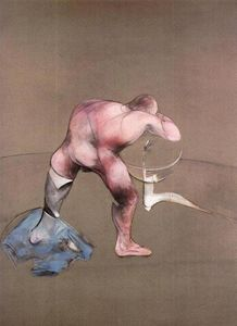 Francis Bacon - Man at Washbasin