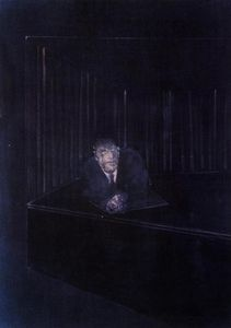 Francis Bacon - Man in Blue IV