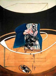 Francis Bacon - Study for Portrait on Folding Bed