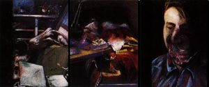 Francis Bacon - Triptych 1