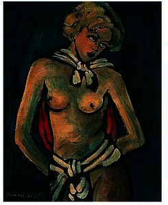 Francis Picabia - Femme nu