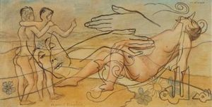 Francis Picabia - Le mirage