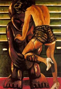 Francis Picabia - The woman and the idol