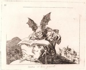 Francisco De Goya - Contra el bien general 1