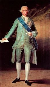 Francisco De Goya - Don José Moñino, count of Floridablanca