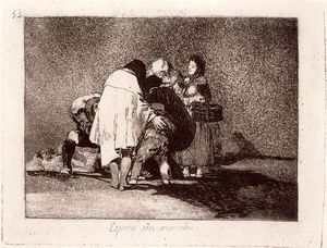 Francisco De Goya - Espiró sin remedio