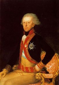 Francisco De Goya - General Don Antonio Ricardos