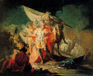 Francisco De Goya - Hannibal contemplating Italy