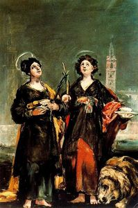 Francisco De Goya - Saints Justa and Rufina