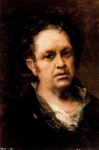 Francisco De Goya - Self-portrait 1