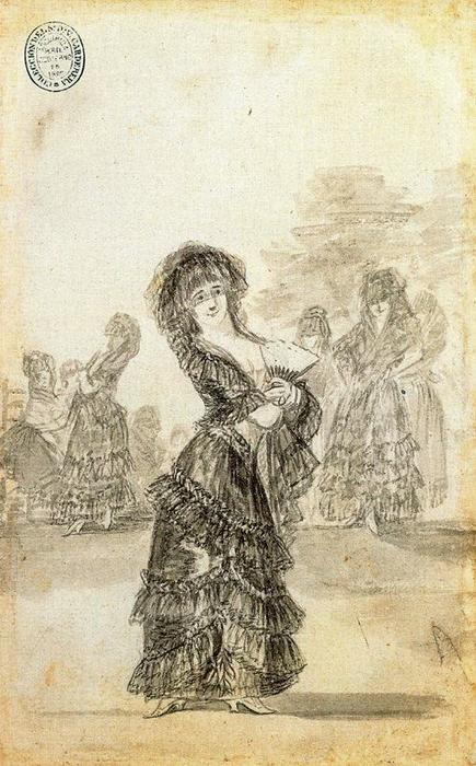 Tal para qual 2 by Francisco De Goya (1746-1828, Spain) | Museum Art Reproductions Francisco De Goya | WahooArt.com
