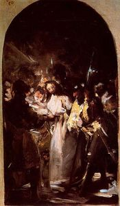 Francisco De Goya - The arrest of Christ