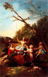 Francisco De Goya - The swing 1