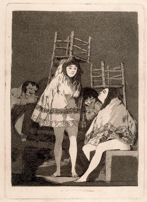 Ya tienen asiento 1 by Francisco De Goya (1746-1828, Spain) | Famous Paintings Reproductions | WahooArt.com