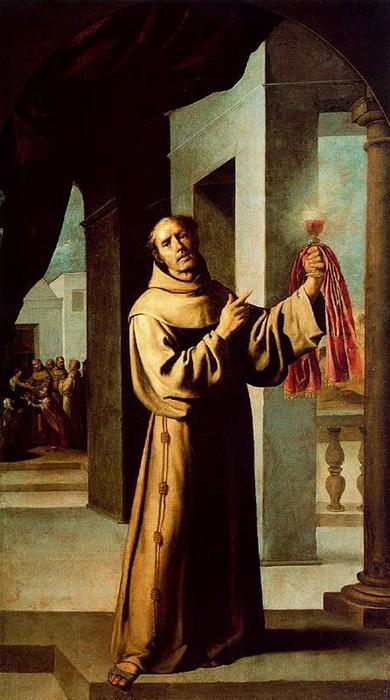 San Jacobo de la Marca by Francisco Zurbaran (1598-1664, Spain) | Art Reproductions Francisco Zurbaran | WahooArt.com