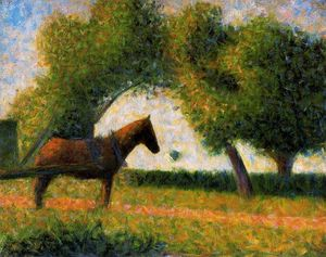 Georges Pierre Seurat - Horse