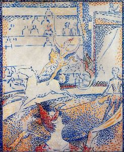 Georges Pierre Seurat - Study for --The Circus--