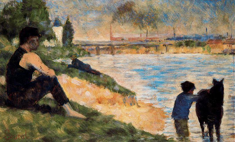 Where Was The Bathers At Asnieres Painted