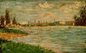 Georges Pierre Seurat - The River Banks