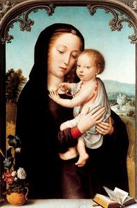 Gerard David - The Virgin and Child