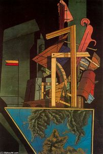Giorgio De Chirico - The Melancholy of Departure
