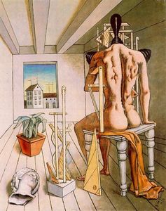 Giorgio De Chirico - The muse of silence