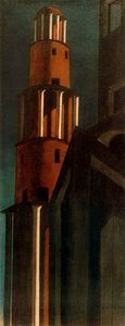 Giorgio De Chirico - The tower