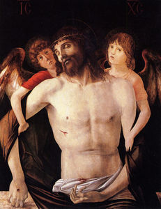 Giovanni Bellini - The Dead Christ Supported by Two Angels
