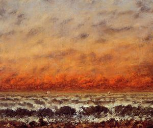 Gustave Courbet - Seascape 2