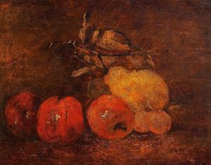 Gustave Courbet - Still Life with Pears and Apples