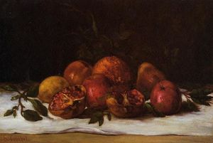 Gustave Courbet - Still Life