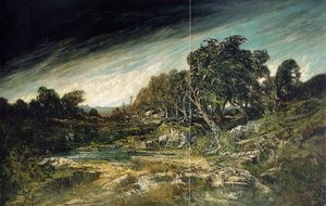 Gustave Courbet - The Approaching Storm (aka The Gust of Wind)