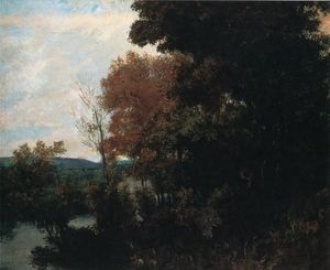 Gustave Courbet - The Forest Edge