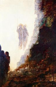 Gustave Moreau - The Angels of Sodom