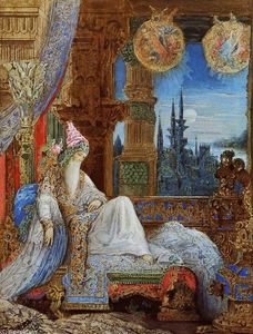 Gustave Moreau - The Dream Haunting the Mogul