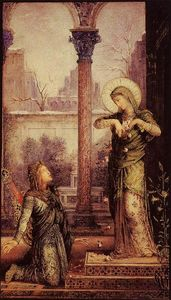 Gustave Moreau - The Poet and the Saint
