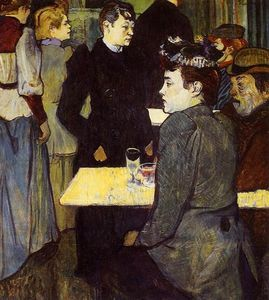 Henri De Toulouse Lautrec - A Corner in the Moulin de la Galette