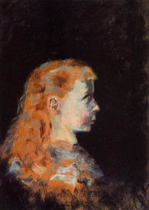 Henri De Toulouse Lautrec - Portrait of a Child