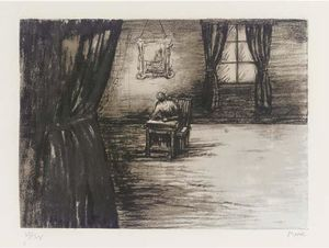 Henry Moore - Figure in a Room