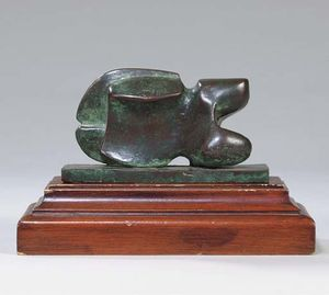 Henry Moore - Maquette for Carving
