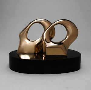 Henry Moore - Maquette For Double Oval