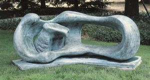 Henry Moore - Reclining Mother and Child