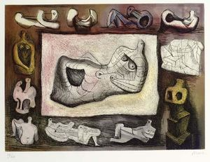 Henry Moore - Sculptural Ideal 5
