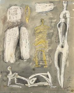 Henry Moore - Tall Figure