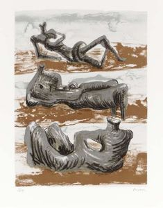Henry Moore - Three Reclining Figures 6