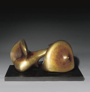 Henry Moore - Two Piece Sculpture No. 7; Pipe