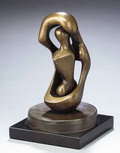 Henry Moore - Upright Connected Forms